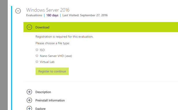 Server 2016 Install, First Impressions  – Basement Datacenter